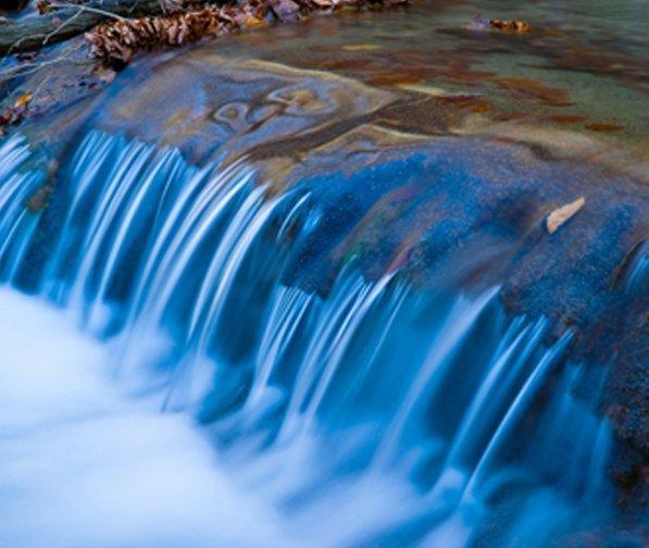Waterfall representing healing