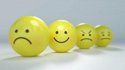 Emojis of different emotions