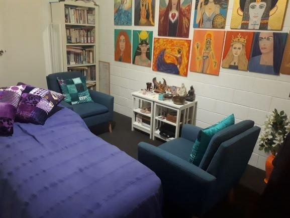 Sacred Feminine Healing room